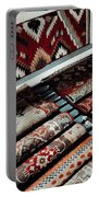 Native American Rugs Portable Battery Charger