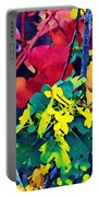 Native Plants Become Art.  Portable Battery Charger