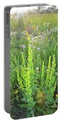 Native Prairie In Moraine Hills State Park Portable Battery Charger