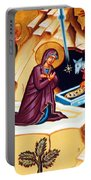 Nativity At Shepherd Field Portable Battery Charger