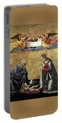 Nativity By Domenico Ghirlandaio Portable Battery Charger