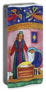 Nativity With Angels Portable Battery Charger