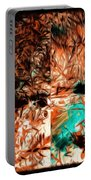 Natural Abstract Portable Battery Charger