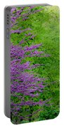 Natural Background Portable Battery Charger