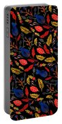 Natural Floral Pattern Portable Battery Charger