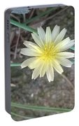 Natural... White And Yellow Flower Portable Battery Charger