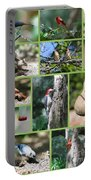 Nature Collage Portable Battery Charger