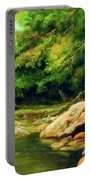 Nature Is Beautiful Impressionism Portable Battery Charger