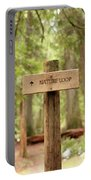 Nature Loop Sign Portable Battery Charger