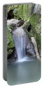 Nature Spring Scene Creek Portable Battery Charger