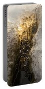 Natures Creativity - Golden Crevasse Portable Battery Charger