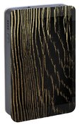 Nature's Secret Code - The Wood Grain Message #4 Portable Battery Charger