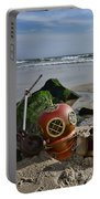 Nautical Collection Found On The Beach Portable Battery Charger