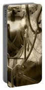 Nautical Dreams In Sepia Portable Battery Charger