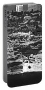 Navy Flag Flown Pass South Head Cliffs  Portable Battery Charger