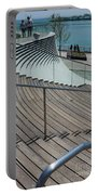 Navy Pier Stairs Portable Battery Charger