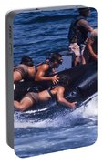 Navy Seals Practice High Speed Boat Portable Battery Charger