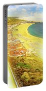 Nazare Skyline Sunset Portable Battery Charger