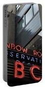 Nbc Studio Rainbow Room Sign Portable Battery Charger