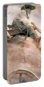 N.c. Wyeth: Ore Wagon Portable Battery Charger
