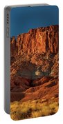 Near The Fluted Wall In Capitol Reef National Park Utah Portable Battery Charger