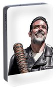 Negan Fanart Portable Battery Charger