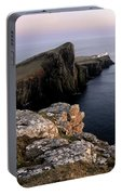 Neist Point Lighthouse, Isle Of Skye, Scotland Portable Battery Charger