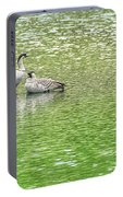 Nene On Green Pond Portable Battery Charger