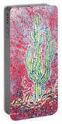 Neon Cactus Portable Battery Charger