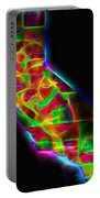 Neon California State Map Portable Battery Charger