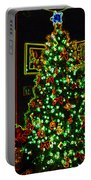 Neon Christmas Tree Portable Battery Charger