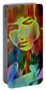 Neon Color Bob Dylan Portable Battery Charger