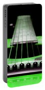 Neon Green Guitar 18 Portable Battery Charger