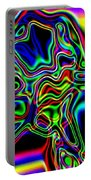 Neon Iris Portable Battery Charger