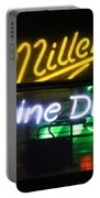 Neon Miller Beer Portable Battery Charger