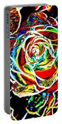 Neon Rose Portable Battery Charger