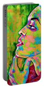 Neon Vibes Painting Portable Battery Charger