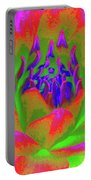 Neon Water Lily 02 - Photopower 3371 Portable Battery Charger