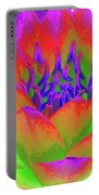 Neon Water Lily - Photopower 3370 Portable Battery Charger