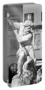 Neptune Vs Octopus - Piazza Navona In Rome Portable Battery Charger