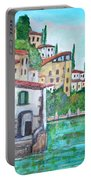 Nesso Village In Lake Como Portable Battery Charger