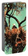 Nesting Bald Eagle Portable Battery Charger