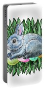 Nesting Easter Bunny Portable Battery Charger