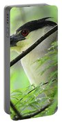 Nestled Night Heron Portable Battery Charger