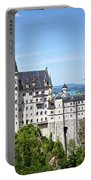 Neuschwanstein Castle Of Germany Portable Battery Charger