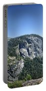 Nevada And Vernal Falls From Near Grizzly Peak - Yosemite Valley Portable Battery Charger