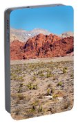 Nevada's Red Rocks Portable Battery Charger
