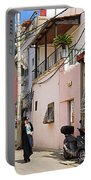 Neve Tzedek Neighborhood In Tel Aviv Portable Battery Charger