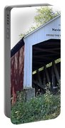 Nevins Covered Bridge Indiana Portable Battery Charger