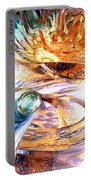 New Beginnings Abstract  Portable Battery Charger